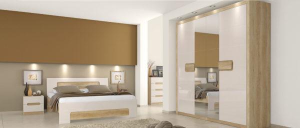 Kolekcija spavaća soba KAN