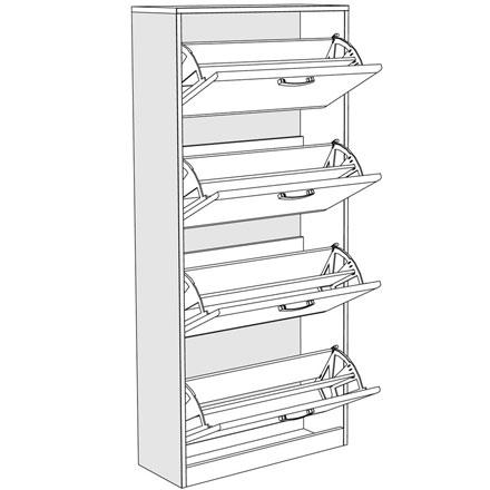 Cipelar ODISEJ 4V tehnički crtež