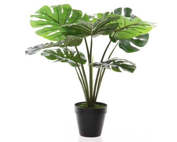 Umjetne biljke i cvijeće u saksiji