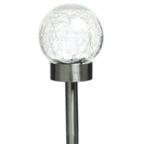 SOLARNA LED LAMPA ROSTFRAJ / LOMLJENO STAKLO KUGLA  7140760